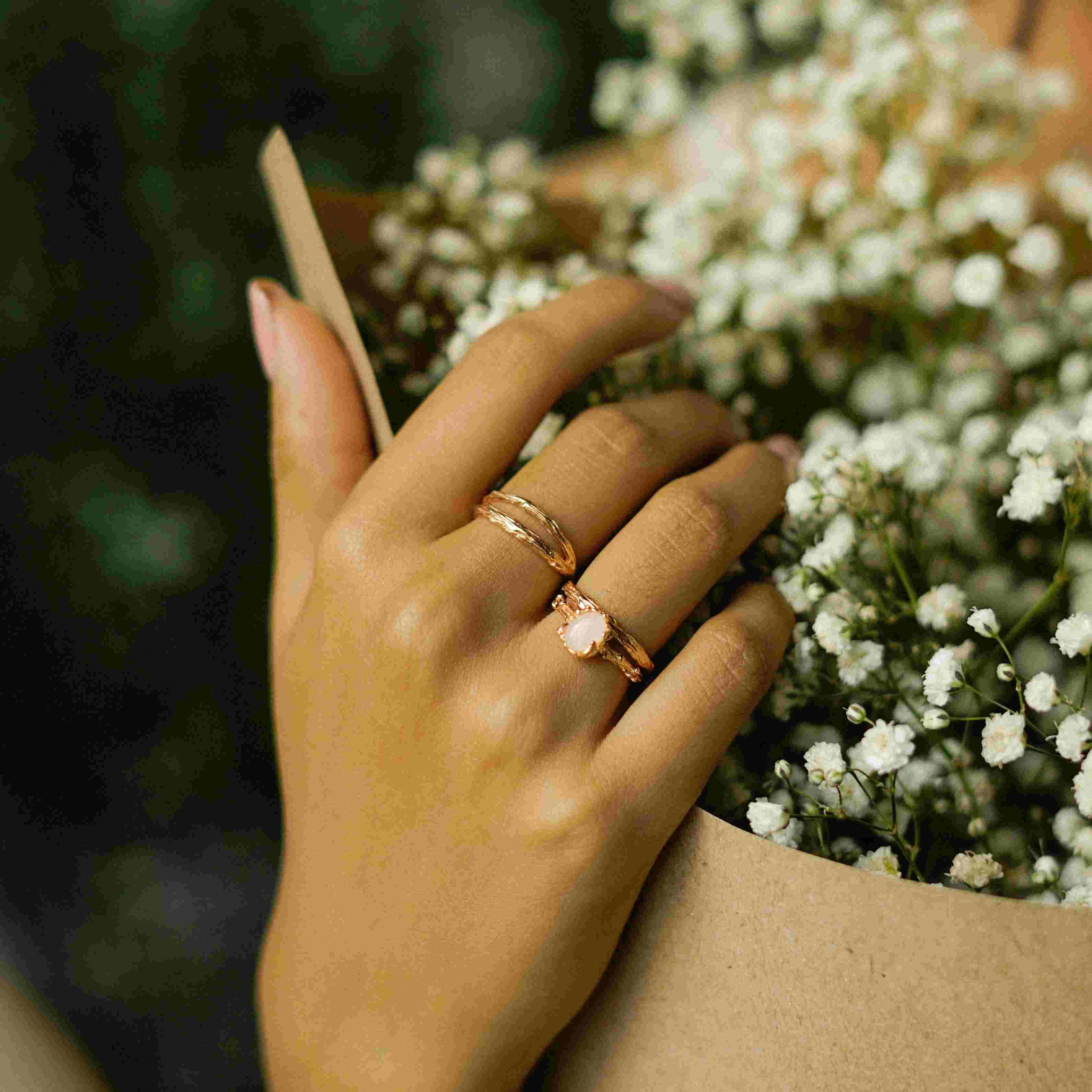 Nala Ring Rose Gold