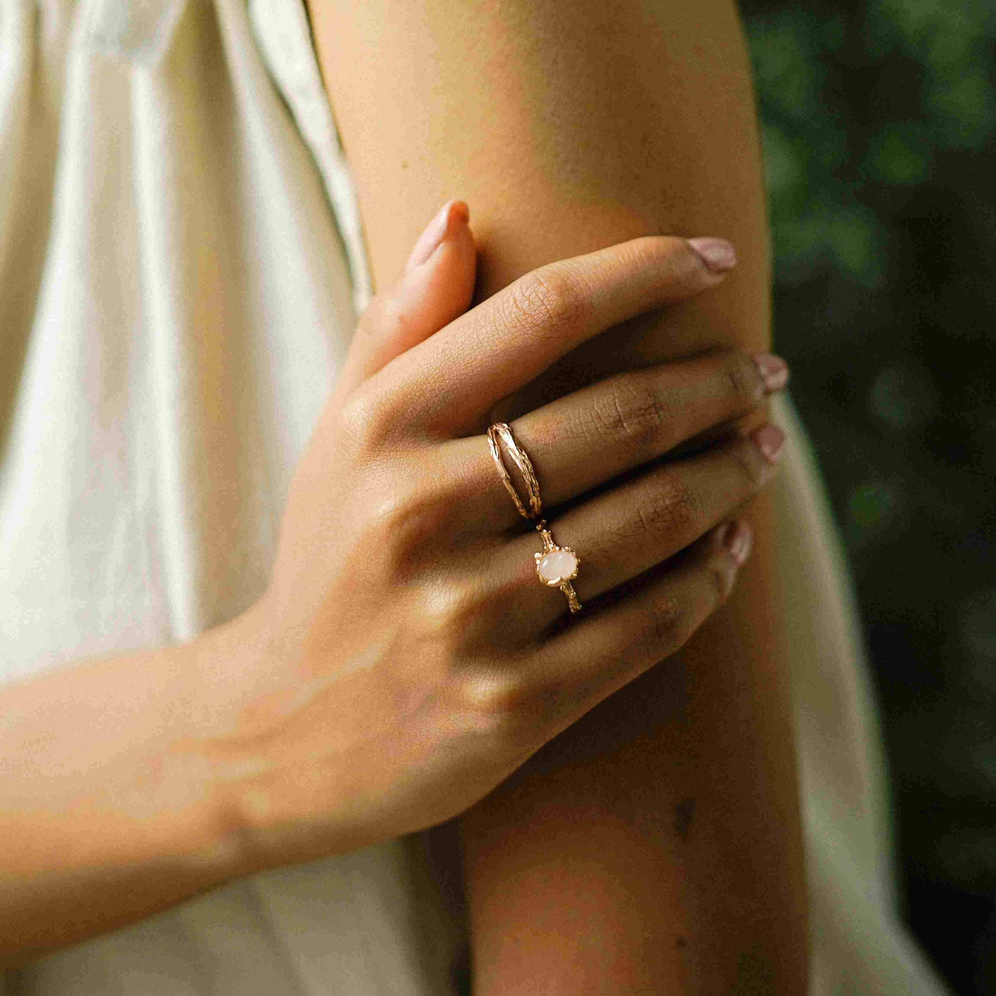 Nawa Ring Rose Gold